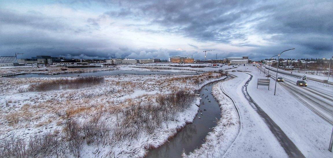 Vizită de studiu în Reykjavik, Islanda.
