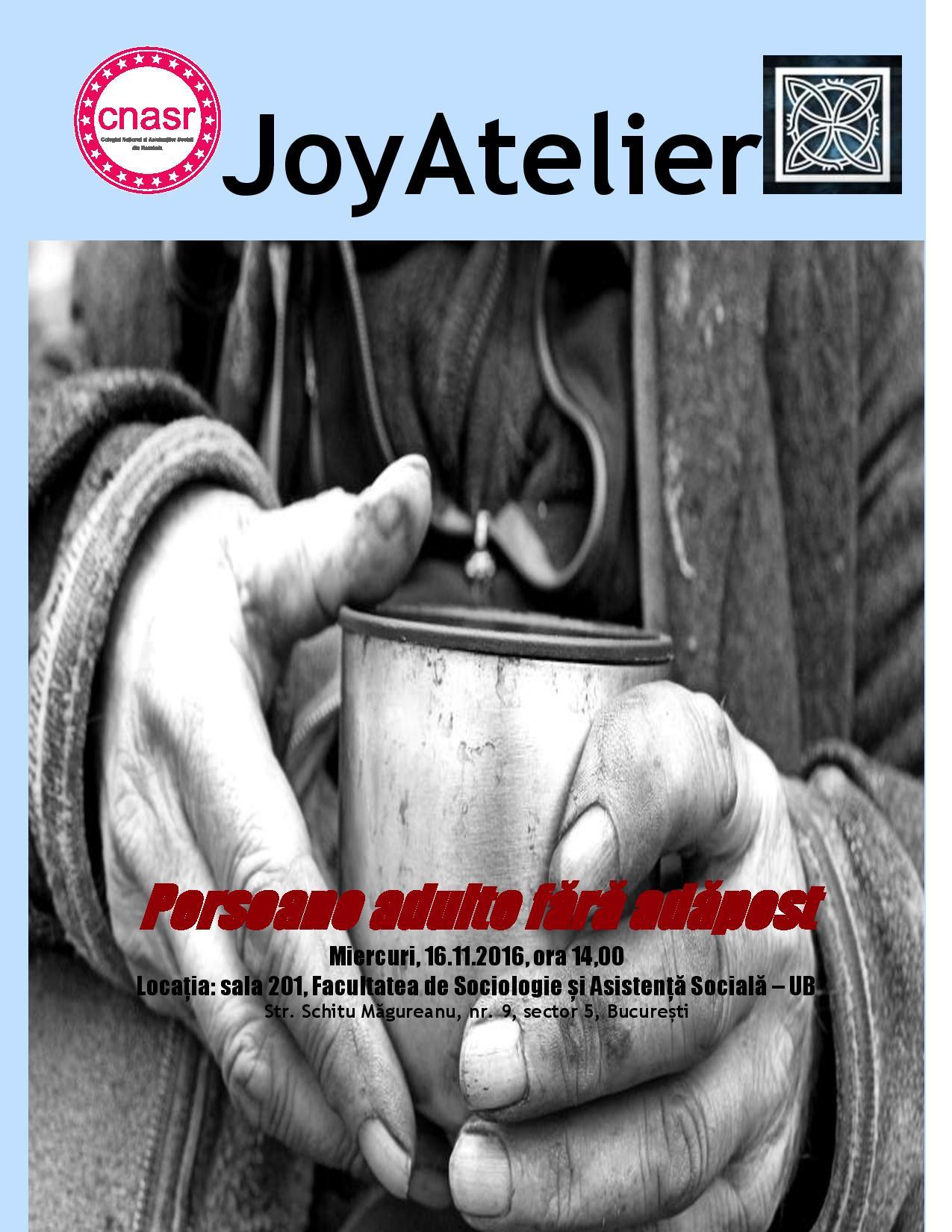 Invitatie la JoyAtelier