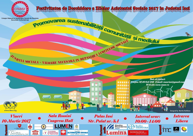 Festivitatea de deschidere a Zilelor Asistenţei Sociale 2017 în Judeţul Iaşi