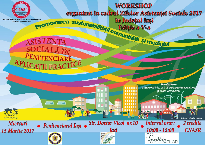 Agenda Workshop 15 Martie 2017 Penitenciar