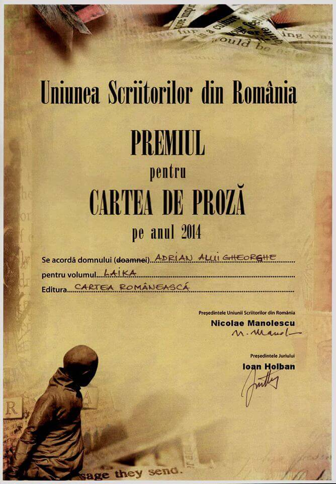 Premiile Uniunii Scriitorilor din România