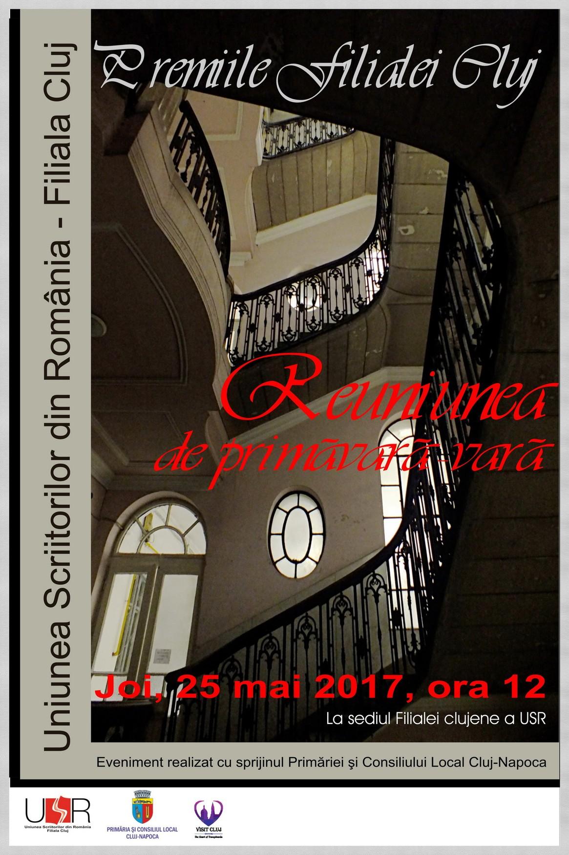 Premiile Filialei Cluj a Uniunii Scriitorilor din România
