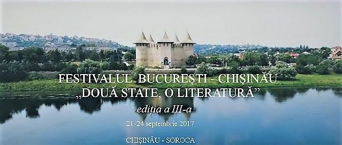 """Festivalul """"Două state, o literatură"""" Chişinău"""