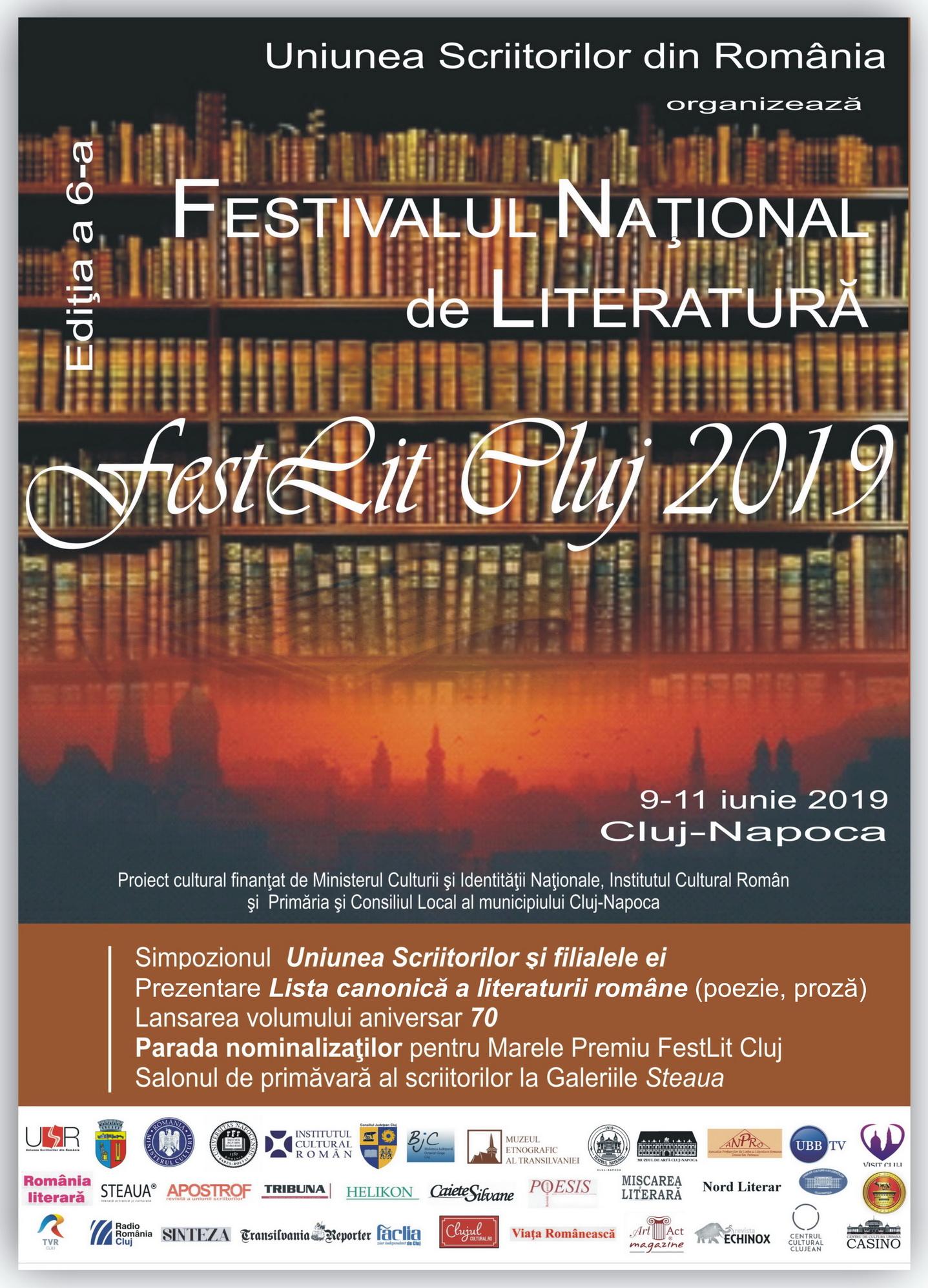 Comunicat Marele Premiu FestLit Cluj 2019