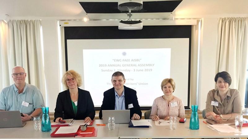 Comunicat - Adunarea Generală Anuală a European Writers' Council (EWC)