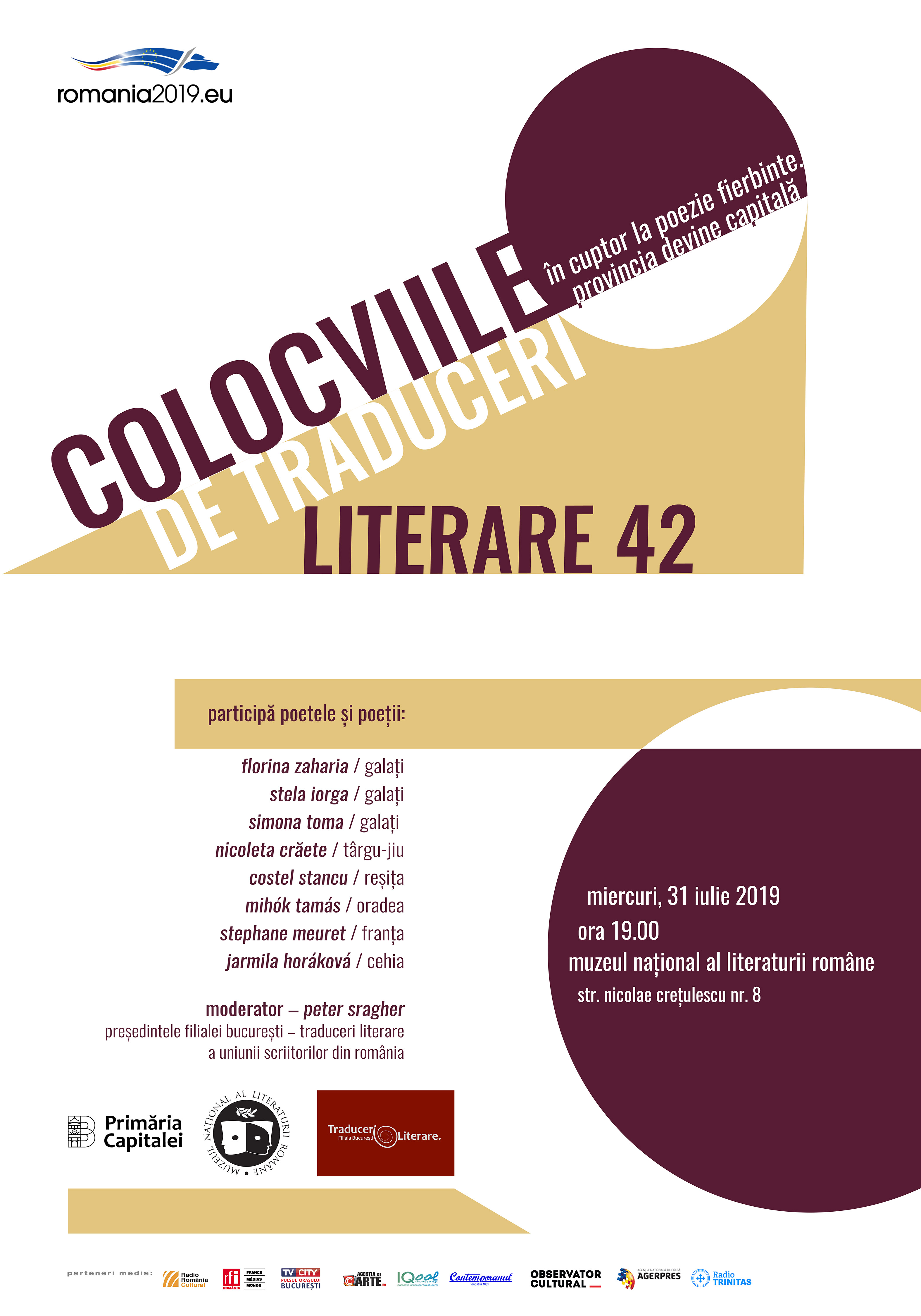 Colocviile de Traduceri Literare 42